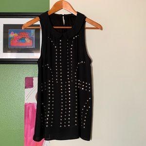 Studded sleeveless blouse